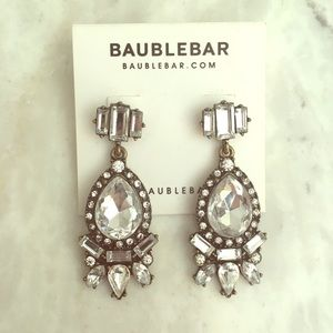 Baublebar earrings. Never worn.